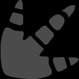 恐竜の足跡アイコン2 アイコン素材ダウンロードサイト Icooon Mono 商用利用可能なアイコン素材が無料 フリー ダウンロードできるサイト