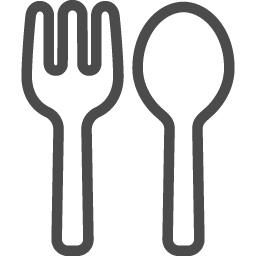 食事の無料アイコン13 アイコン素材ダウンロードサイト Icooon Mono 商用利用可能なアイコン素材 が無料 フリー ダウンロードできるサイト