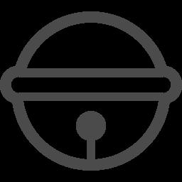 鈴アイコン1 アイコン素材ダウンロードサイト Icooon Mono 商用利用可能なアイコン素材が無料 フリー ダウンロードできるサイト