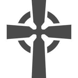 ケルト十字アイコン1 アイコン素材ダウンロードサイト Icooon Mono 商用利用可能なアイコン素材が無料 フリー ダウンロードできるサイト