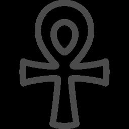 エジプト十字アイコン1 アイコン素材ダウンロードサイト Icooon Mono 商用利用可能なアイコン素材が無料 フリー ダウンロードできるサイト