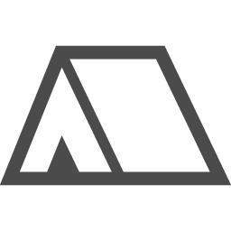 テントアイコン1 アイコン素材ダウンロードサイト Icooon Mono 商用利用可能なアイコン素材が無料 フリー ダウンロードできるサイト