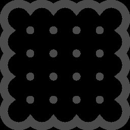 ビスケットアイコン6 アイコン素材ダウンロードサイト Icooon Mono 商用利用可能なアイコン 素材が無料 フリー ダウンロードできるサイト