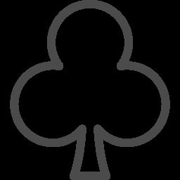 クローバーのマーク5 アイコン素材ダウンロードサイト Icooon Mono 商用利用可能なアイコン素材が無料 フリー ダウンロードできるサイト