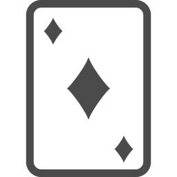 トランプのダイヤ4 アイコン素材ダウンロードサイト Icooon Mono 商用利用可能なアイコン素材が無料 フリー ダウンロードできるサイト