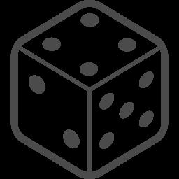サイコロの無料素材4 アイコン素材ダウンロードサイト Icooon Mono 商用利用可能なアイコン素材が無料 フリー ダウンロードできるサイト
