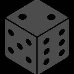 サイコロアイコン2 アイコン素材ダウンロードサイト Icooon Mono 商用利用可能なアイコン素材が無料 フリー ダウンロードできるサイト