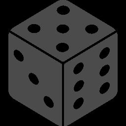 サイコロのフリー素材5 アイコン素材ダウンロードサイト Icooon Mono 商用利用可能なアイコン素材が無料 フリー ダウンロードできるサイト