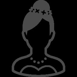 新婦の無料イラスト1 アイコン素材ダウンロードサイト Icooon Mono 商用利用可能なアイコン素材が無料 フリー ダウンロードできるサイト