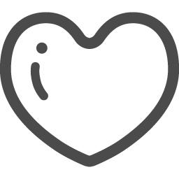 可愛いハートアイコン2 アイコン素材ダウンロードサイト Icooon Mono 商用利用可能なアイコン素材が無料 フリー ダウンロードできるサイト