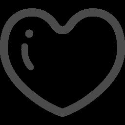 可愛いハートアイコン2 アイコン素材ダウンロードサイト Icooon Mono 商用利用可能なアイコン 素材が無料 フリー ダウンロードできるサイト