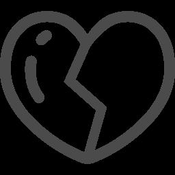 失恋アイコン2 アイコン素材ダウンロードサイト Icooon Mono 商用利用可能なアイコン素材が無料 フリー ダウンロードできるサイト