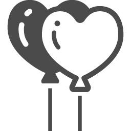 風船のフリーイラスト9 アイコン素材ダウンロードサイト Icooon Mono 商用利用可能なアイコン素材が無料 フリー ダウンロードできるサイト