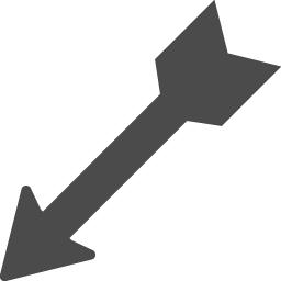 矢アイコン2 アイコン素材ダウンロードサイト Icooon Mono 商用利用可能なアイコン素材が無料 フリー ダウンロードできるサイト