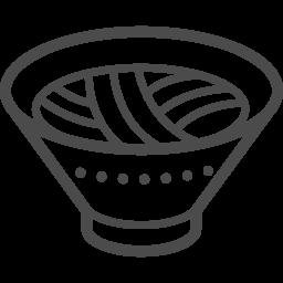 ラーメンアイコン4 アイコン素材ダウンロードサイト Icooon Mono 商用利用可能なアイコン素材が無料 フリー ダウンロードできるサイト