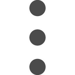 三点リーダーアイコン2 アイコン素材ダウンロードサイト Icooon Mono 商用利用可能なアイコン素材が無料 フリー ダウンロードできるサイト