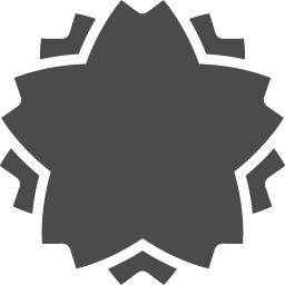桜アイコン3 アイコン素材ダウンロードサイト Icooon Mono 商用利用可能なアイコン素材が無料 フリー ダウンロードできるサイト