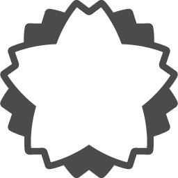 桜アイコン5 アイコン素材ダウンロードサイト Icooon Mono 商用利用可能なアイコン素材が無料 フリー ダウンロードできるサイト