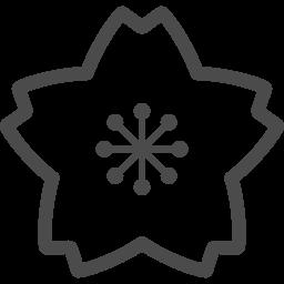桜アイコン9 アイコン素材ダウンロードサイト Icooon Mono 商用利用可能なアイコン素材が無料 フリー ダウンロードできるサイト