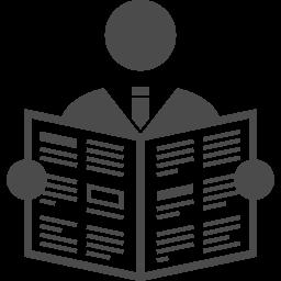 新聞アイコン6 アイコン素材ダウンロードサイト Icooon Mono 商用利用可能なアイコン素材が無料 フリー ダウンロードできるサイト