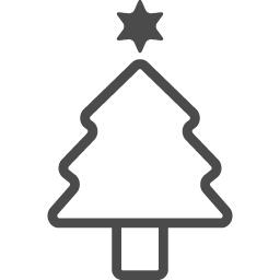 クリスマスツリーのフリーイラスト6 アイコン素材ダウンロードサイト Icooon Mono 商用利用可能なアイコン素材が無料 フリー ダウンロードできるサイト