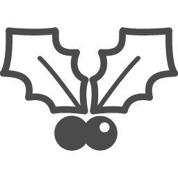 ヒイラギの葉のフリーイラスト5 アイコン素材ダウンロードサイト Icooon Mono 商用利用可能なアイコン素材が無料 フリー ダウンロードできるサイト