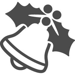 クリスマスベルのフリーイラスト6 アイコン素材ダウンロードサイト Icooon Mono 商用利用可能なアイコン素材が無料 フリー ダウンロードできるサイト