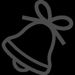 クリスマスベルの無料イラスト7 アイコン素材ダウンロードサイト Icooon Mono 商用利用可能なアイコン素材が無料 フリー ダウンロードできるサイト