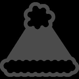 サンタクロースの帽子アイコン8 アイコン素材ダウンロードサイト Icooon Mono 商用利用可能なアイコン素材が無料 フリー ダウンロードできるサイト
