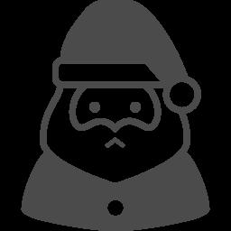 サンタクロースアイコン1 アイコン素材ダウンロードサイト Icooon Mono 商用利用可能なアイコン素材が無料 フリー ダウンロードできるサイト