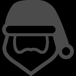 サンタクロースのフリーアイコン4 アイコン素材ダウンロードサイト Icooon Mono 商用利用可能なアイコン素材が無料 フリー ダウンロードできるサイト