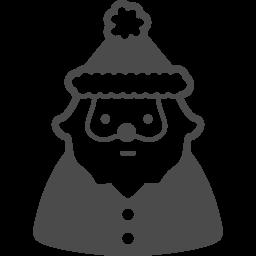 サンタクロースのフリーイラスト7 アイコン素材ダウンロードサイト Icooon Mono 商用利用可能なアイコン素材が無料 フリー ダウンロードできるサイト