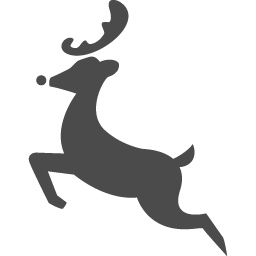 トナカイの無料アイコン8 アイコン素材ダウンロードサイト Icooon Mono 商用利用可能なアイコン素材が無料 フリー ダウンロードできるサイト