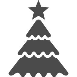 クリスマスツリーアイコン9 アイコン素材ダウンロードサイト Icooon Mono 商用利用可能なアイコン素材が無料 フリー ダウンロードできるサイト