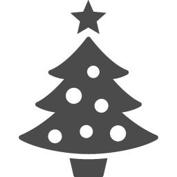 クリスマスツリーのフリー素材13 アイコン素材ダウンロードサイト Icooon Mono 商用利用可能なアイコン素材が無料 フリー ダウンロードできるサイト