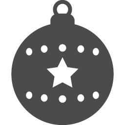 ボールオーナメントアイコン1 アイコン素材ダウンロードサイト Icooon Mono 商用利用可能なアイコン素材 が無料 フリー ダウンロードできるサイト