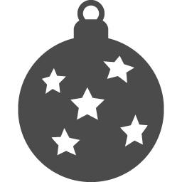 ボールオーナメントのフリーアイコン2 アイコン素材ダウンロードサイト Icooon Mono 商用利用可能なアイコン素材が無料 フリー ダウンロードできるサイト