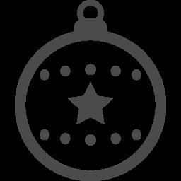 ボールオーナメントのフリーイラスト4 アイコン素材ダウンロードサイト Icooon Mono 商用利用可能なアイコン素材が無料 フリー ダウンロードできるサイト