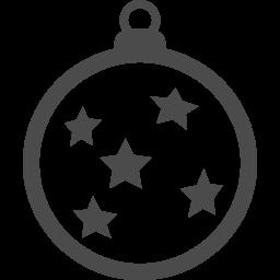 ボールオーナメントの無料素材5 アイコン素材ダウンロードサイト Icooon Mono 商用利用可能なアイコン素材 が無料 フリー ダウンロードできるサイト