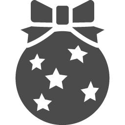 ボールオーナメントのフリー素材8 アイコン素材ダウンロードサイト Icooon Mono 商用利用可能なアイコン素材が無料 フリー ダウンロードできるサイト