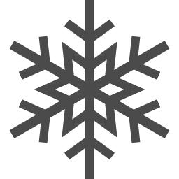 雪の結晶アイコン1 アイコン素材ダウンロードサイト Icooon Mono 商用利用可能なアイコン素材が無料 フリー ダウンロードできるサイト