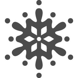 雪の結晶アイコン3 アイコン素材ダウンロードサイト Icooon Mono 商用利用可能なアイコン素材が無料 フリー ダウンロードできるサイト