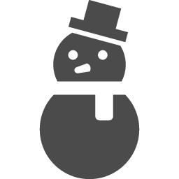 雪だるまアイコン4 アイコン素材ダウンロードサイト Icooon Mono 商用利用可能なアイコン素材が無料 フリー ダウンロードできるサイト
