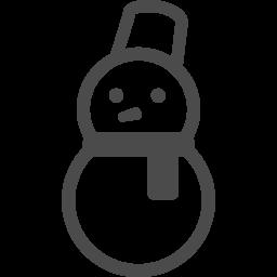 雪だるまアイコン6 アイコン素材ダウンロードサイト Icooon Mono 商用利用可能なアイコン素材が無料 フリー ダウンロードできるサイト
