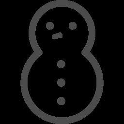 雪だるまアイコン8 アイコン素材ダウンロードサイト Icooon Mono 商用利用可能なアイコン素材が無料 フリー ダウンロードできるサイト
