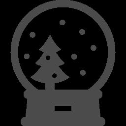スノードームアイコン3 アイコン素材ダウンロードサイト Icooon Mono 商用利用可能なアイコン 素材が無料 フリー ダウンロードできるサイト
