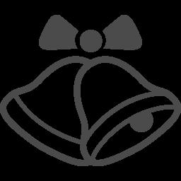 クリスマスベルのフリーイラスト8 アイコン素材ダウンロードサイト Icooon Mono 商用利用可能なアイコン素材が無料 フリー ダウンロードできるサイト