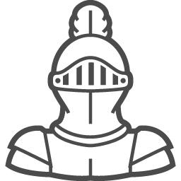 騎士のフリーイラスト3 アイコン素材ダウンロードサイト Icooon Mono 商用利用可能なアイコン素材が無料 フリー ダウンロードできるサイト