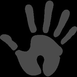 手形アイコン1 アイコン素材ダウンロードサイト Icooon Mono 商用利用可能なアイコン素材が無料 フリー ダウンロードできるサイト