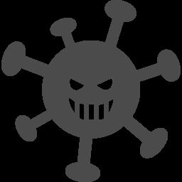 ウィルスのフリーアイコン3 アイコン素材ダウンロードサイト Icooon Mono 商用利用可能なアイコン素材が無料 フリー ダウンロードできるサイト